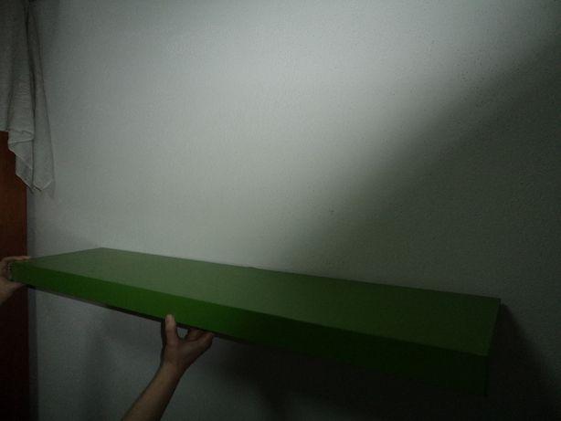 Estante de Parede IKEA Verde – Gama Lack