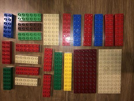 Lego Duplo plytki dlugie klocki rozne ceny
