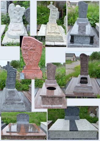 Надгробок з декоративного граніту . Пам'ятник. Могили.