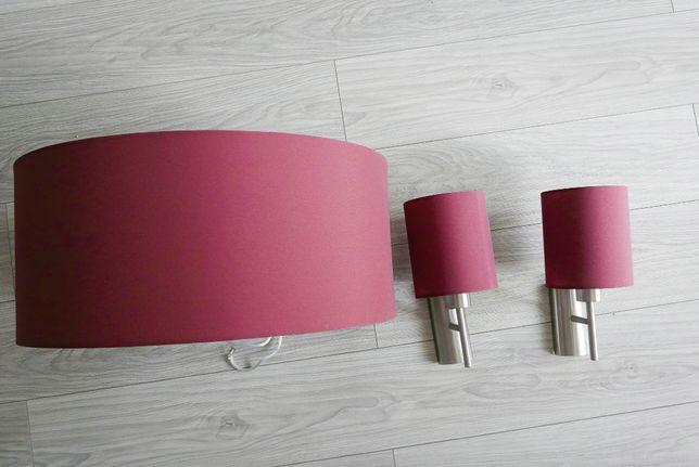 Kinkiety + lampa