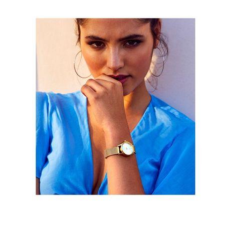 Relógio Dourado Oriflame NOVO - Super Preço