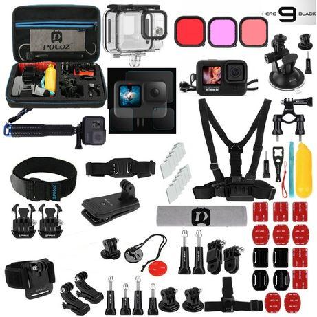 GoPro 9 Black e Gopro 10 Black - Pack Acessórios - Pack Pro Plus -Novo