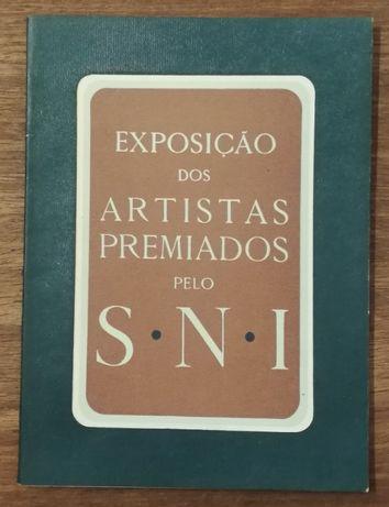 exposição dos artistas premiados pelo sni, palácio foz 1949