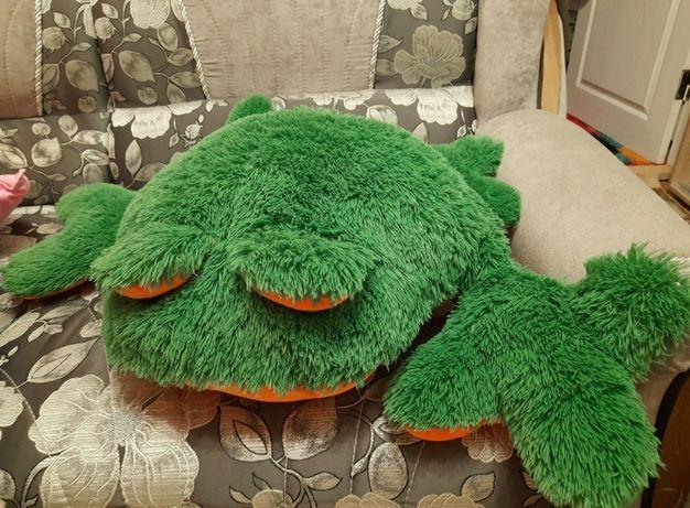 Жаба мягкая игрушка
