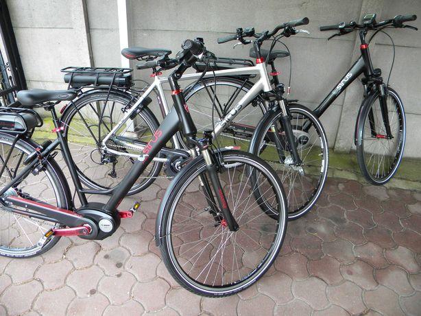 rower elektryczny SINUS BC50 Staiger Bosch XLC hydraulika 8 Nexus