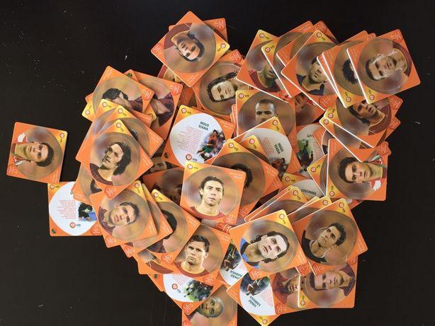 Cromos Suplentes Portugal Coleção Euro 2004