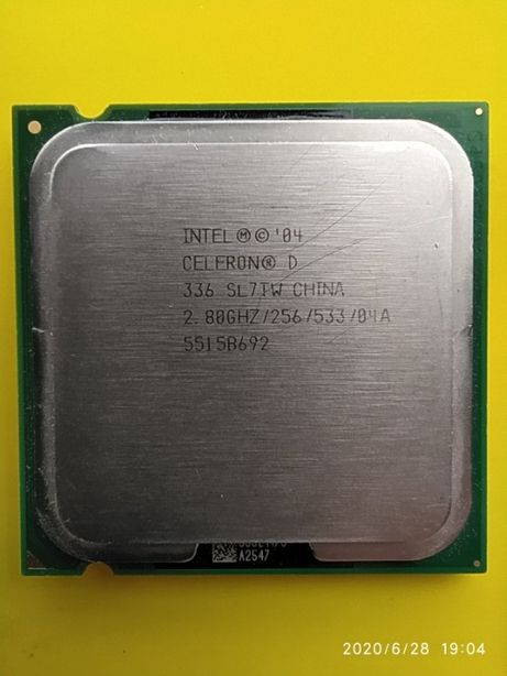 Процессор Intel® Celeron® D 336 2,80 GHz 775 сокет