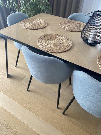 Krzesło tapicerowane - komplet