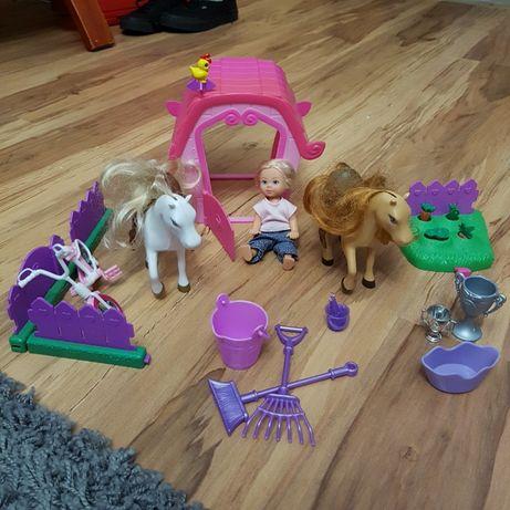 Barbie kucyki - zestaw