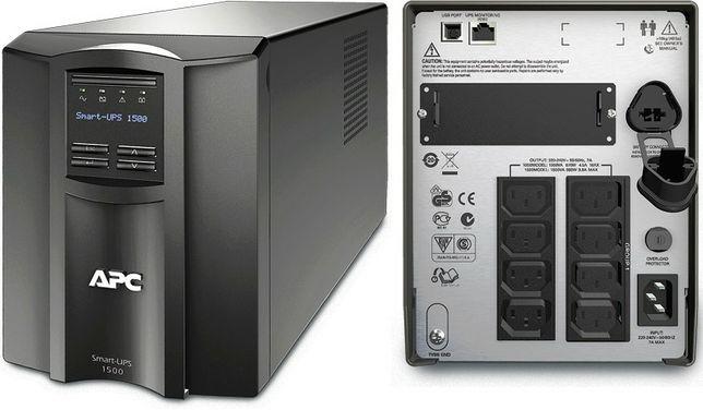 НОВЫЙ ИБП!!! Источник бесперебойного питания APC Smart-UPS 1500VA LCD