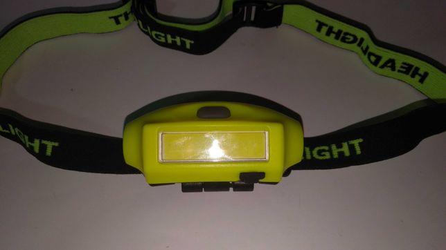 Фонарик LED на лобный