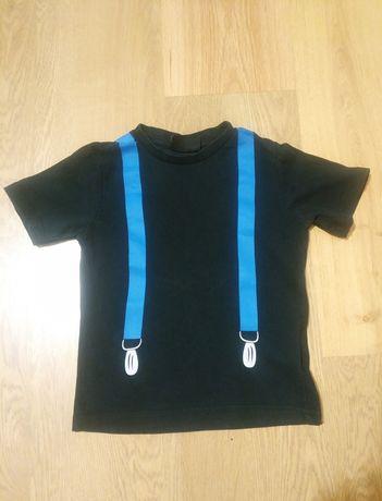 Фирменные футболки для мальчика 3-4 года хлопок подтяжки