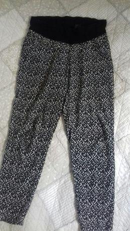 Spodnie ciążowe letnie H&M Mama rozm 36-38