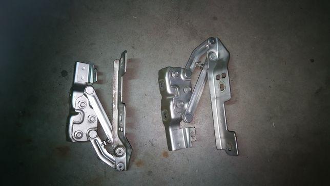 Zawiasy maski Opel Astra J IV komplet
