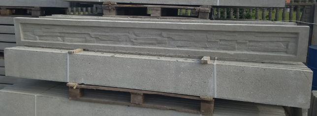 Podmurówka betonowa wys. 25 cm