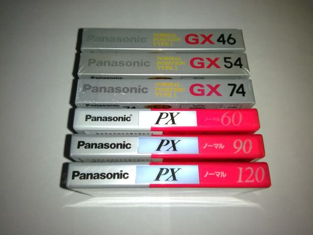 Аудиокассеты Panasonic Japan market аудио кассеты.
