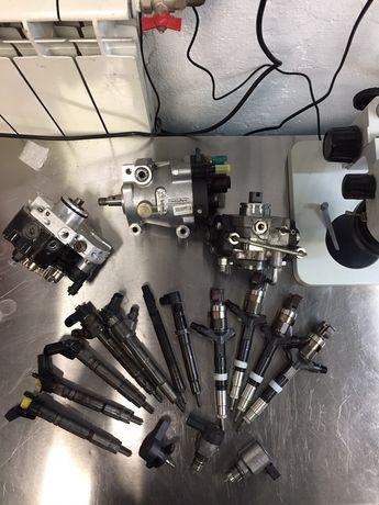 Ремонт дизельної паливної апаратури (форсунки та насоси).