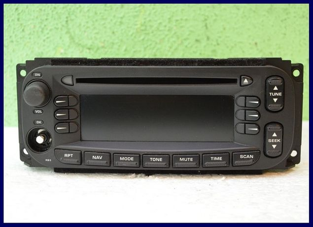 Radio Radioodtwarzacz CD NAVI Chrysler PT CRUISER