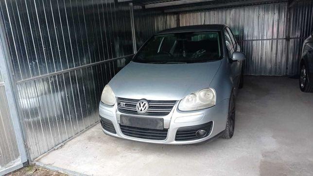 VW Golf V 1.4 BLG maska błotnik drzwi prawe-lewe, klapa zderzak LA7W