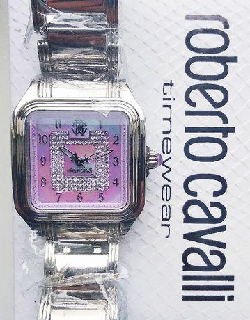 Часы Roberto Cavalli Venom с кристаллами Swarovski, новые