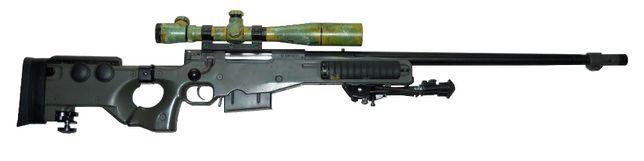 Replika ASG - karabin snajperski Ares AW338 / L96 + TUNING (luneta)