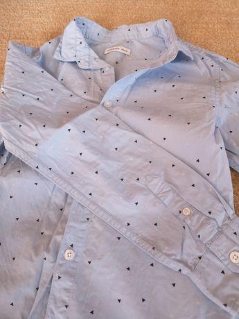 Koszula chłopięca Smyk r. 140 stan idealny