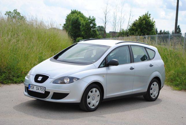 Seat Altea XL*1.6 MPI 8V*Klima*Niski Przebieg*Bardzo Ładna*Niemiec!
