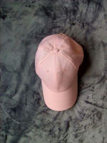 HIT! Różowa, młodzieżowa czapka z daszkiem, fullcap, damska, zapięcie!
