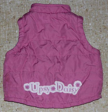 Жилетка на девочку 1,5-2 лет фирмы UPSY DAISY (86-90 см)