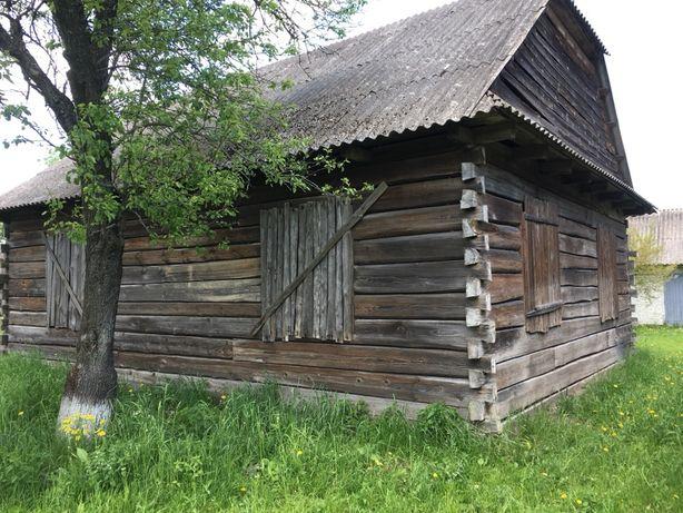 Деревяна хата  Зруб Будинку