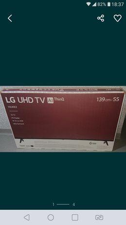 TV LG 55UK6300MLB uszkodzony