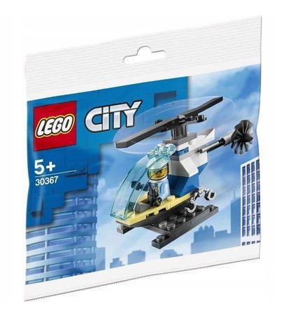 Lego City Helikopter policyjny 30367 policjant + helikopter 34 klocki
