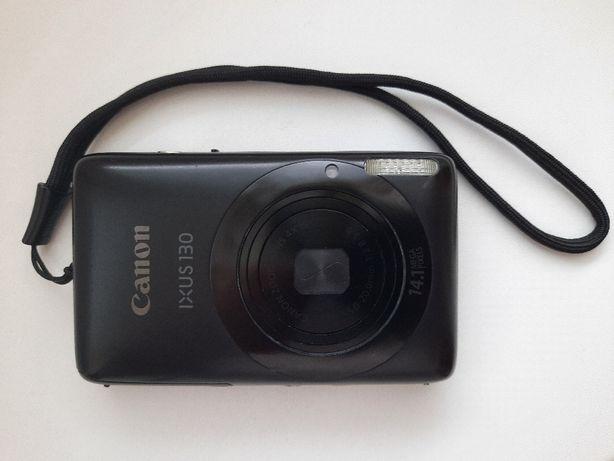 Aparat fotograficzny cyfrowy CANON IXUS 130 z etui