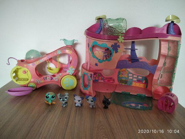 Domek i samochód LPS zestaw