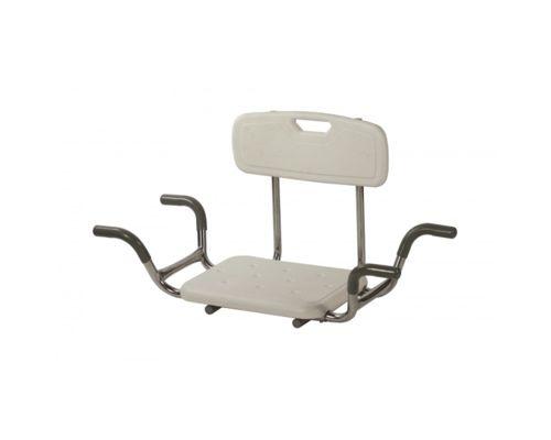 Сиденье для ванны со спинкой для инвалидов
