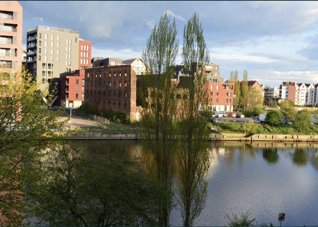 Mieszkanie dwupokojowe z widokiem na Motławę, Gdańsk Śródmieście