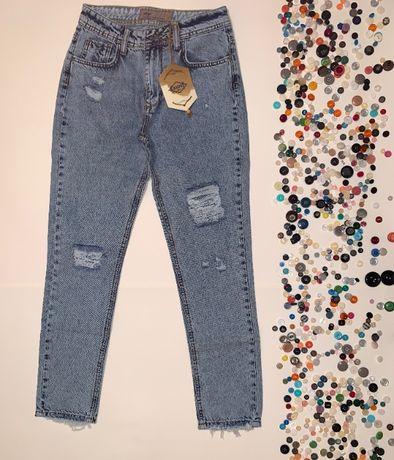 Женские джинсы МОМ