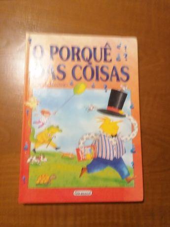 livro infantil O porquê das coisas NOVO portes incluídos