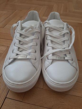 Białe buty sportowe, adidasy mexx jak nowe