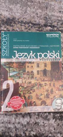 Podręcznik odkrywamy na nowo Język Polski 2, szkoły ponadgimnazjalne