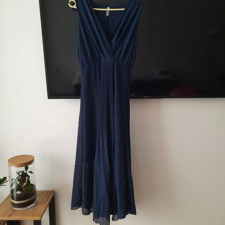 Długa elegancka sukienka rozmiar 36-38