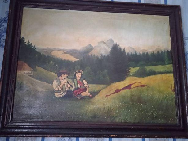 Срочно продам старинную картину.