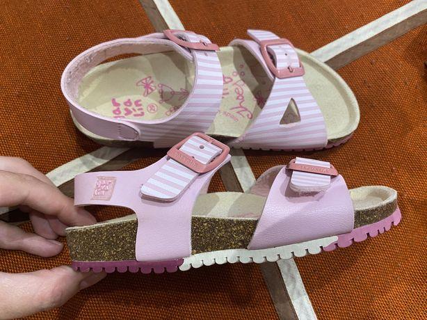 Ортопедические босоножки сандали для девочки