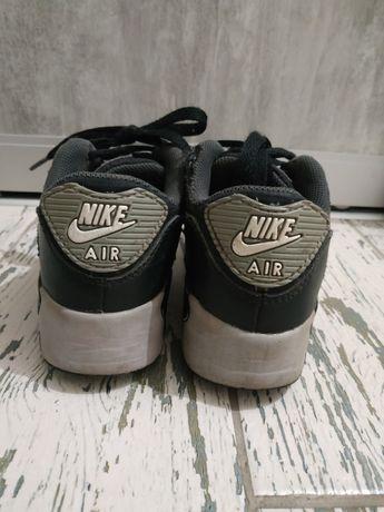 Nike air max кросовки кожаные 19см стелька