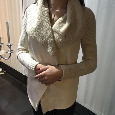 Sweterek z kożuszkiem