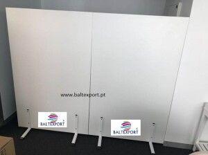 Biombo modular separador divisor de escritorio, escolas, armazem Novo