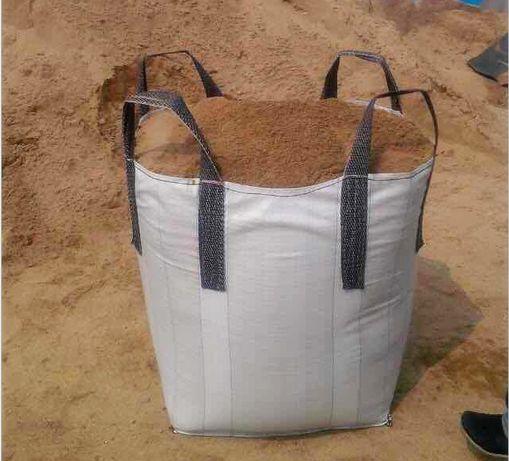 NOWY worek Big Bag Rozmiar 90/90/100cm z otwartą górą na ziemię piasek
