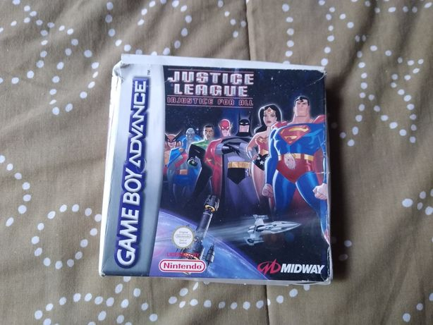 Justice League - Injustice for All para Gba
