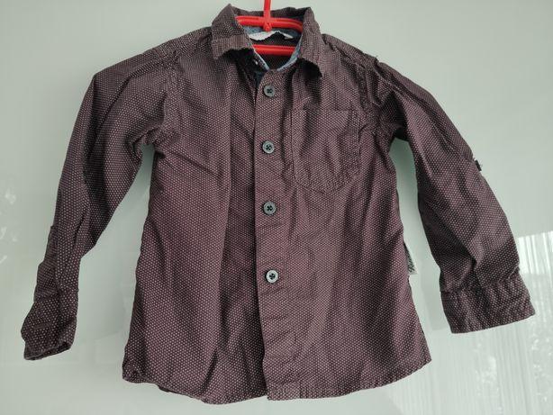 Koszula w kropki Reserved r. 86