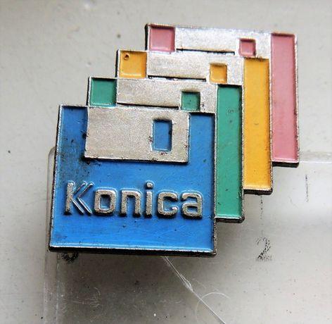 Konica odznaka logo fotografia optyka